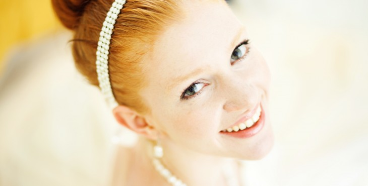 ginger beautiful bride