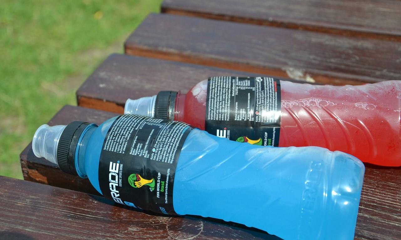Напитки для спортсменов своими руками