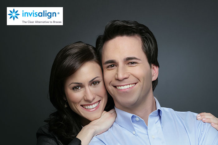 Stay Discreet with Invisalign Clear Aligners