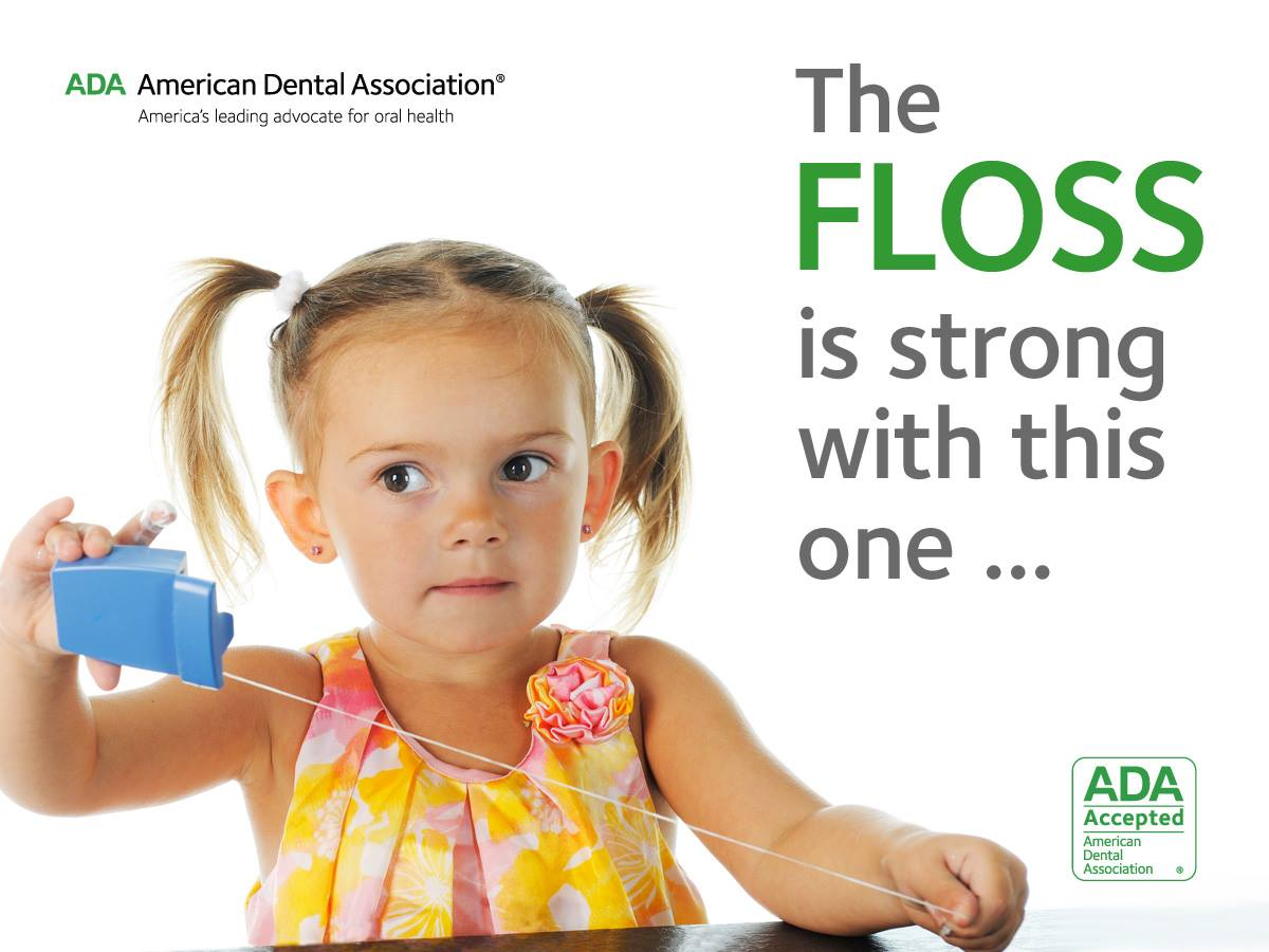 floss is strong with this one